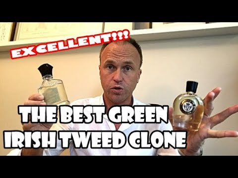Best Green Irish Tweed Clone Yet – Emerald Isle (Parfums Vintage) plus Verbena Fields Comparison