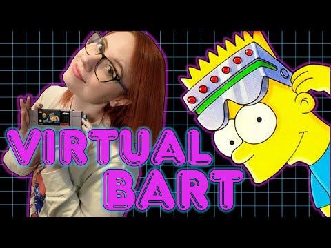 VIRTUAL BART on SUPER NINTENDO! Erin Plays