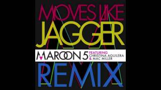 Moves Like Jagger (Remix) Featuring Mac Miller and Christina Aguilera (HD)