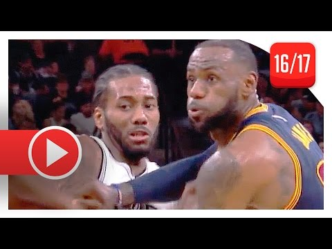Kawhi Leonard vs LeBron James MVP Duel Highlights (2017.03.27) Spurs vs Cavaliers – SICK!