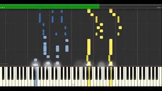 AI [アイ] - DECO*27 (feat. Hatsune Miku) Synthesia Tutorial/Piano Cover