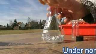 Naoh, water, Aluminum = hydrogen gaz.