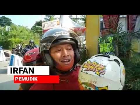 Mudik Happy Dijaga Polisi, Pospam Simpang Yasmin Polresta Bogor Kota