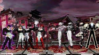 Kof Mugen Super Iori Team Vs Super Orochi Team