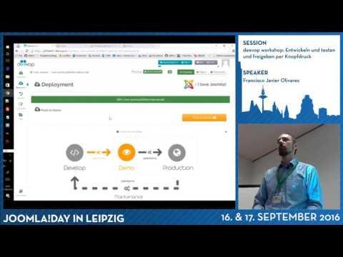 deevop Workshop: Entwickeln, testen und freigeben per Knopfdruck