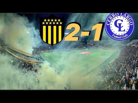 """""""HINCHADA DE PEÑAROL 2-1 Cerro Largo/ Torneo Clausura 2019, Fecha 15/"""" Barra: Barra Amsterdam • Club: Peñarol"""
