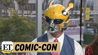 Comic-Con 2018: John Cena Interviews In A Bumblebee Costume!