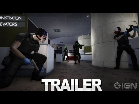 Trailer de Payday: The Heist Complete