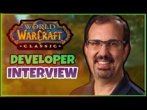 EXCLUSIVE: Classic WoW Developer Interview ft. John Hight and Omar Gonzalez