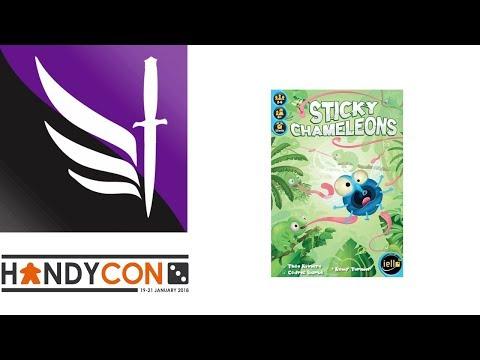 Sticky Chameleons - Handycon 3
