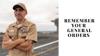 Quick way to memorize general orders!