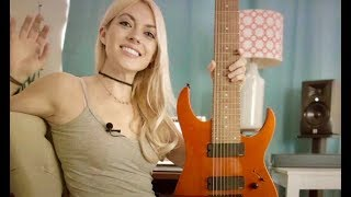 Emily Hastings shows us the Ibanez RG80E 8-String (Sweetwater campaign)