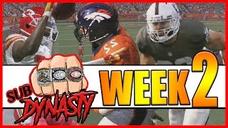 FINAL DRIVE NAIL BITERS!! - Sub Dynasty Ep.4 | Madden 17 Connected Franchise