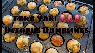 Takoyaki🐙Octopus Dumplings