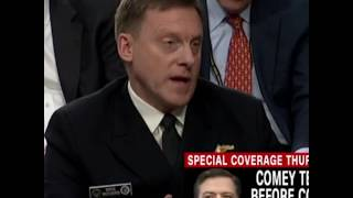 Tense Exchange With National Security Agency Director Adm. Mike Rogers