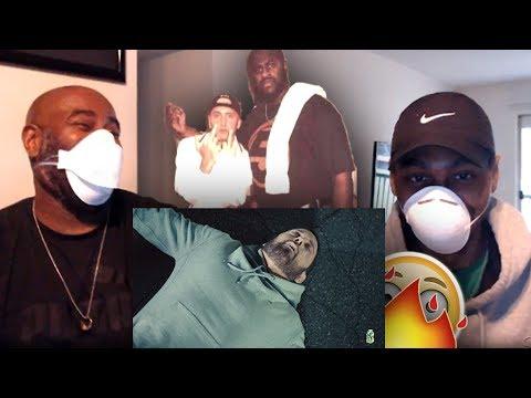 Eminem's Ex-Bodyguard (Big Naz) REACTS to Eminem - Godzilla ft. Juice WRLD (Dir. by @_ColeBennett_)