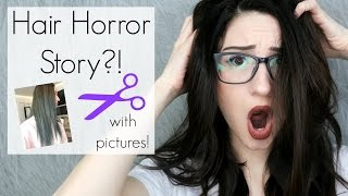 MY HAIR COLORING HORROR STORY TIME W/ PICTURES!? || BeautyChickee