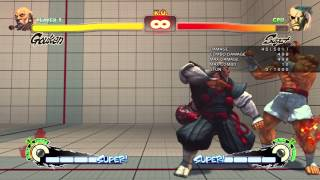 Gouken - Combos/Resets/Cross-Ups By Rikk