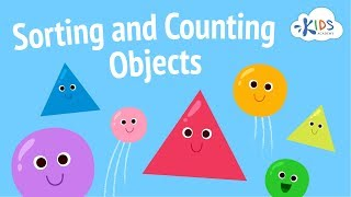 Sorting Objects And Counting For Kids | Sorting Games For Preschool & Kindergarten | Kids Academy