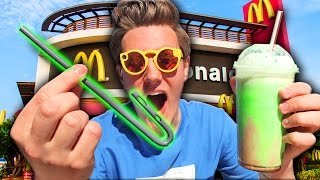 McDonalds Made a Smart Straw?