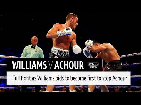 Full fight: Liam Williams v Karim Achour