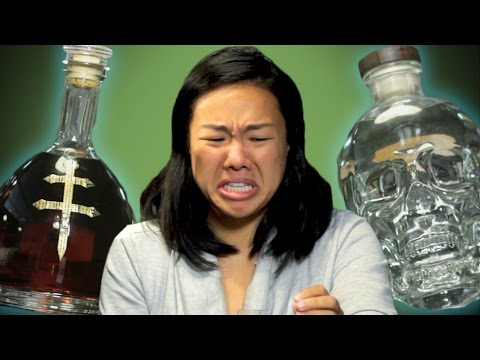 Celebrity Alcohol Taste Test