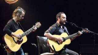 Dave Matthews & Tim Reynolds - Where Are You Going 1/17/15 Oakland, CA