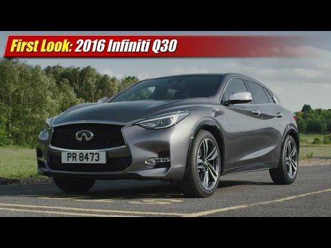 First Look: 2016 Infiniti Q30