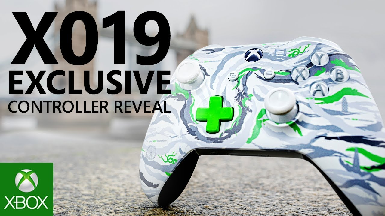 Video For Xbox and DPM Studio, the Camouflage Division of maharishi, Team Up on Exclusive X019 Controller and Apparel