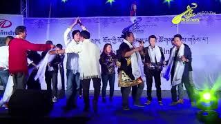 Tibetan Musical Concert 2015 @ Bylakuppe. (Tsering Gurmey ) Zomo La Pang Ghyi Metok Tibetan Song