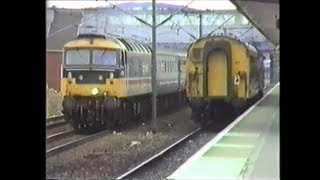 preview picture of video 'Trains In The 1980's   Peterborough, May 1989'