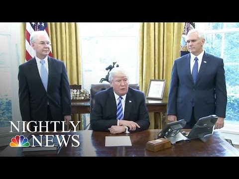 Tax Reform Next On President Donald Trump's Agenda | NBC Nightly News