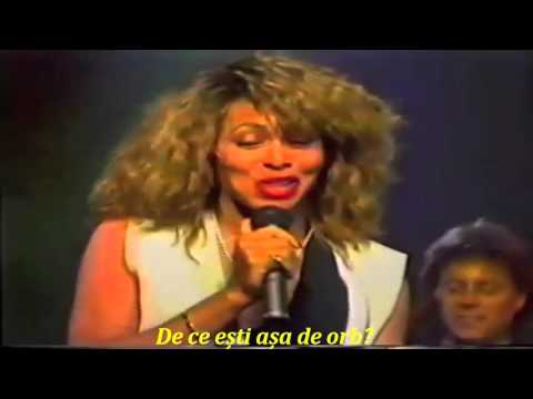 Tina Turner - You Can't Stop Me Loving You (tradus in romana)