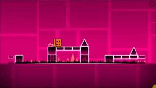 Geometry Dash - Level 2 (Stage 2) Back On Track - Complete