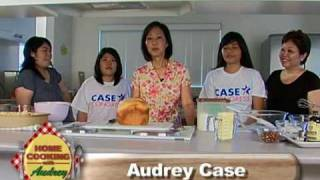 preview picture of video 'Home Cooking with Audrey: Mililani Bread Pudding with the Hisamotos'