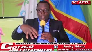 30′ ACTU AVEC JACKY NDALA: AFFAIRE DIAMANT, ELECTION PRESIDENTIELLE 2018 ET LES OBSEQUES DE ROSSY