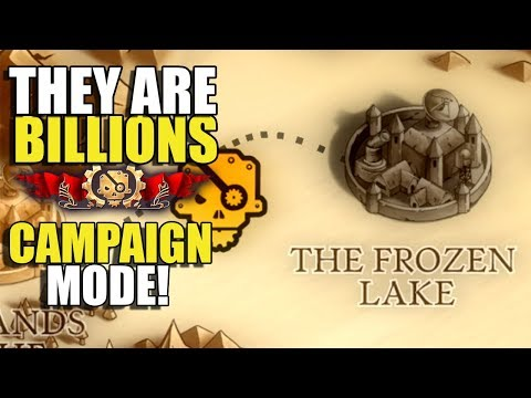 Zombie Ice Cubes? - The Frozen Lake - They Are Billions Gameplay - Campaign Mode