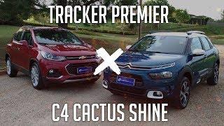 Comparativo: Tracker Premier x C4 Cactus Shine