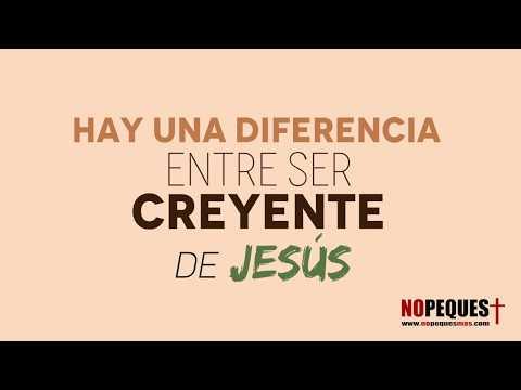Diferencia entre un creyente y un hijo de Dios