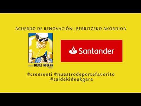 Acuerdo Renovación Banco Santander