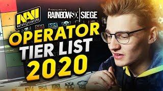 Rainbow Six Siege Operator Tier List 2020 by NAVI Doki