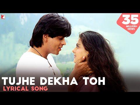 Lyrical: Tujhe Dekha Toh Song with Lyrics   Dilwale Dulhania Le Jayenge   Anand Bakshi