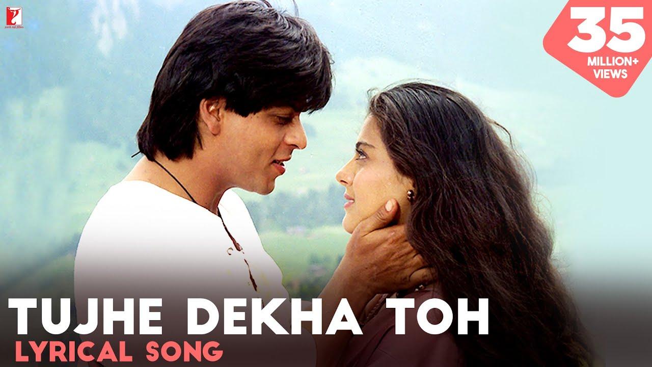 Tujhe Dekha To Ye Jana Sanam Lyrics In English