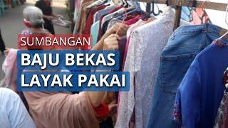 Berbagi Pakaian Bekas Layak Pakai untuk Warga Terdampak PSBB di Jakarta Selatan