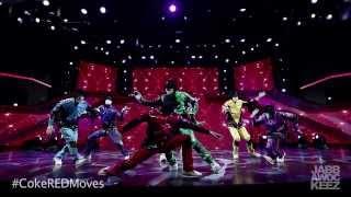 Jabbawockeez - MOVE for the MOVEment Dance #CokeREDMoves