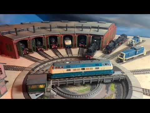 Modelleisenbahn (Besuch beim Moba Freund & Danke sagen)