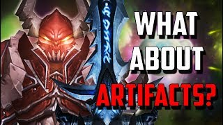 What Happens to Our Artifact Weapons In Patch 7.3.5 - Legion