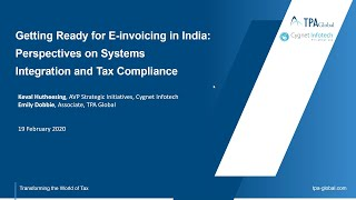 Getting Ready for E-invoicing in India: Perspectives on System Integration and Tax Compliance