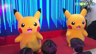 Vừa đi xem máy mới cùng với mấy chú Pokemon