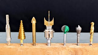 10 Amazing and Useful Drill Bits !!